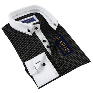 Rashbi Men's Black Dress Shirt