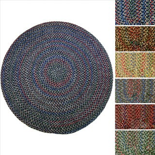 Rhody Rug Katie Indoor/ Outdoor Reversible Braided Rug (4' Round)