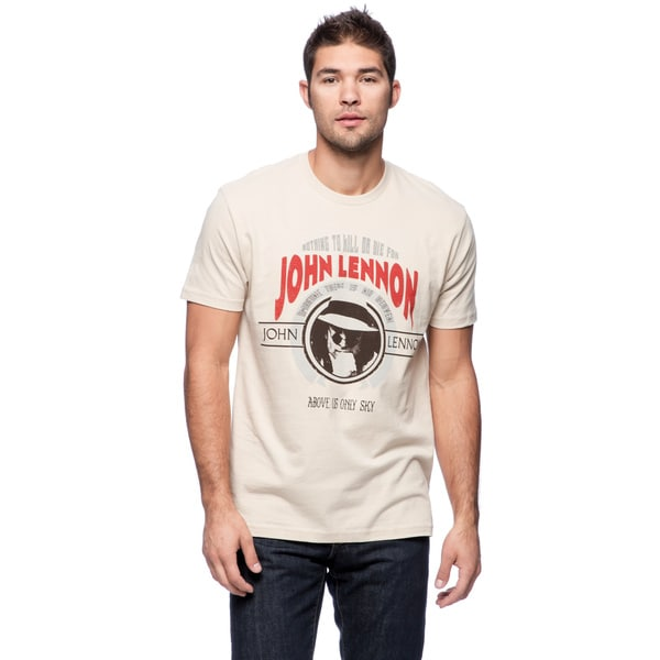 Men's John Lennon Print T-shirt