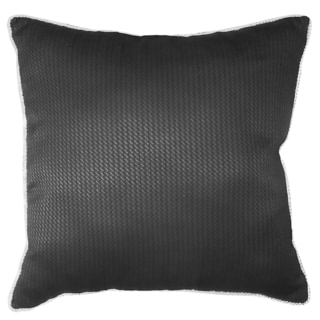 Joseph Abboud Modern Square Tweed Decorative Throw Pillow