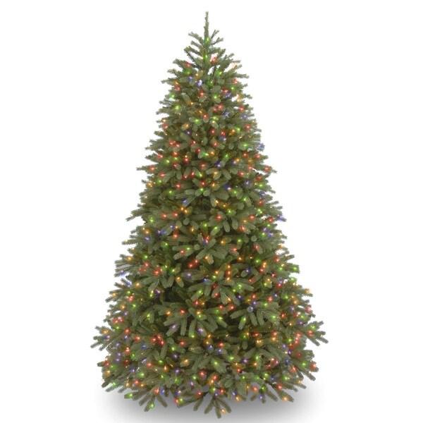 Feel-Real' Jersey Frasier Fir Medium Hinged 7.5-foot Tree with 1000 Multi Lights-UL