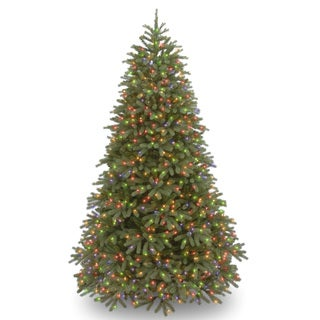Feel-Real' Jersey Frasier Fir Medium Hinged 7.5-foot Tree with 1000 Multi Lights-UL - 7.5'