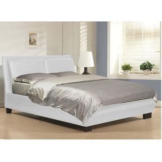Baxton Studio Monroe Modern Platform Bed in White