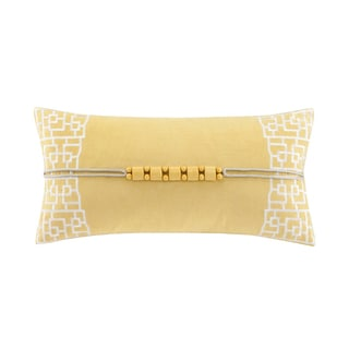 Natori Fretwork Oblong Throw Pillow