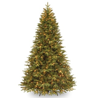 Feel-Real' Pomona Pine Hinged 7.5-foot Tree with 700 Clear Lights