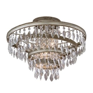 Corbett Lighting Diva 3-light Semi-Flush