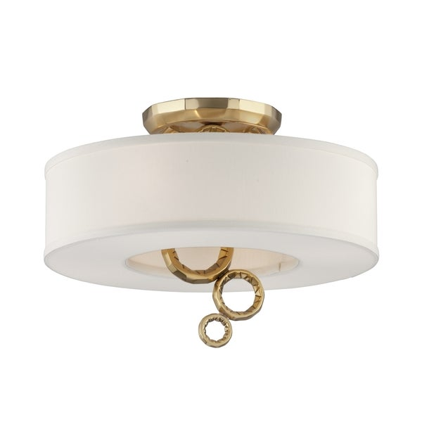 Corbett Lighting Continuum 4-light Semi-Flush