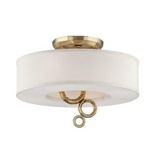 Corbett Lighting Continuum 4-light Semi-Flush