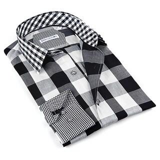 John Lennon Long Sleeve Men's Black Sport Shirt