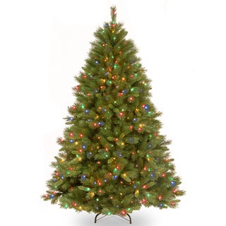 Winchester Pine Hinged 7.5-foot Tree with 500 Multi Lights-UL