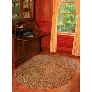 Rhody Rug Sandi Indoor/ Outdoor Reversible Braided Rug (7' x 9')