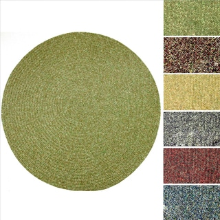 Sandi Indoor / Outdoor Reversible Braided Rug by Rhody Rug (6' Round)