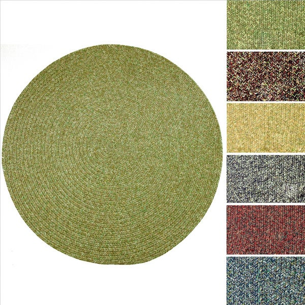 Rhody Rug Sandi Indoor Outdoor Reversible Braided Rug 4
