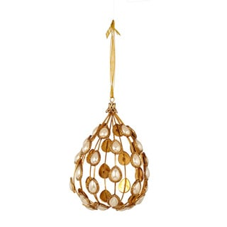 Sage & Co Sage & Co. Pearl Ball Christmas Tree Ornament (Pack of 6)