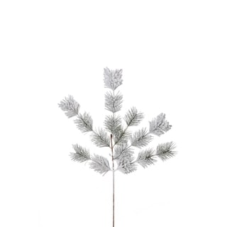 Sage & Co Sage & Co. 17-inch Frosted Pine Christmas Spray (Pack of 12)