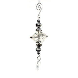 Sage & Co Sage & Co. 4-inch Glass Pendant Ornament (Pack of 6)