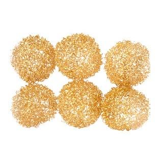 Sage & Co Sage & Co. 10-inch Gold Christmas Bullions (Set of 12)