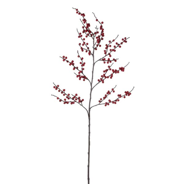 Sage & Co Sage & Co. 52-inch Red Ilex Berry Stem (Set of 2)