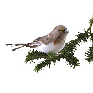 Sage & Co Sage & Co. 7.5-inch Snow Bird Clip-on Christmas Ornaments (Set of 6)