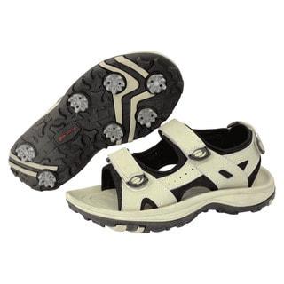 Orlimar Athena Women's Taupe/ Black Golf Sandal