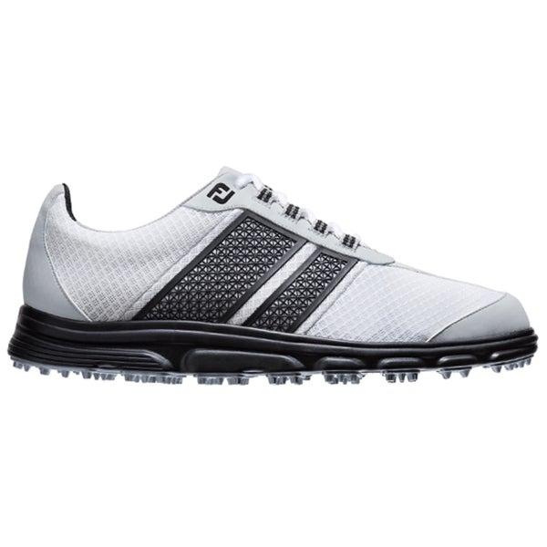 FootJoy Mens FJ Superlites CT White/Black Spikeless Golf Shoes