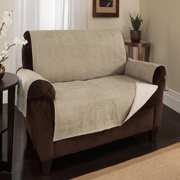 Anti-Slip Water Repellent Furniture Protector - Loveseat