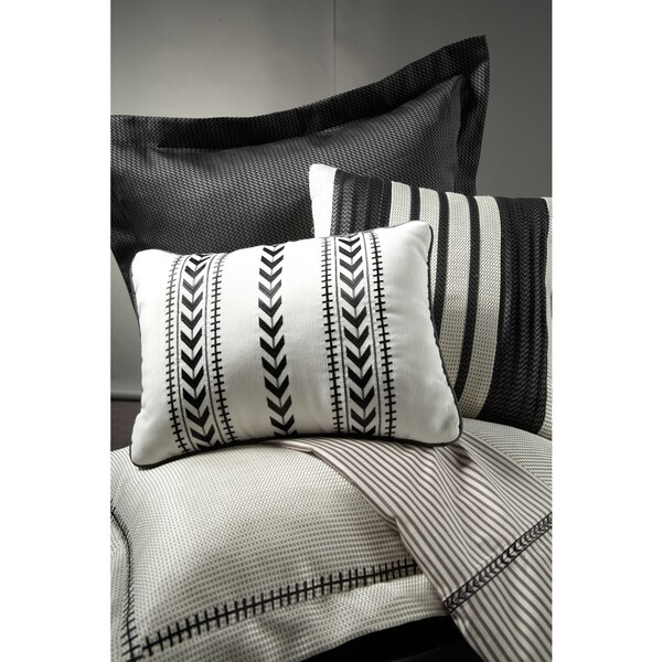 Joseph Abboud Modern Tweed Decorative Throw Pillows (Set of 3)