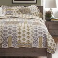 Slumber Shop Whisper 3-piece Reversible Quilt Set