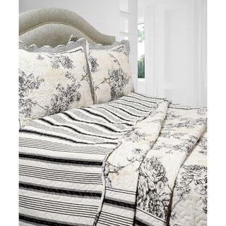 Slumber Shop Emory 3-piece Reversible Quilt Set