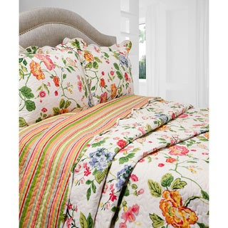 Slumber Shop Amie 3-piece Reversible Quilt Set