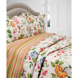 Slumber Shop Amie 3-piece Reversible Quilt Set