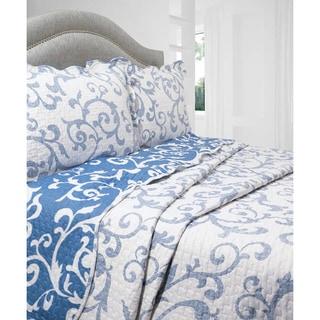 Slumber Shop Teresa 3-piece Reversible Quilt Set