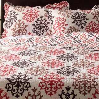 Slumber Shop Unity 3-piece Reversible Quilt Set