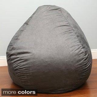 Large Pear Shaped Bean Bag Cinnabar