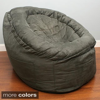 Deluxe Bean Bag Chair Charcoal