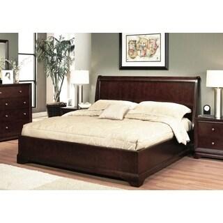 ABBYSON LIVING Beverley Espresso Wood Platform Bed