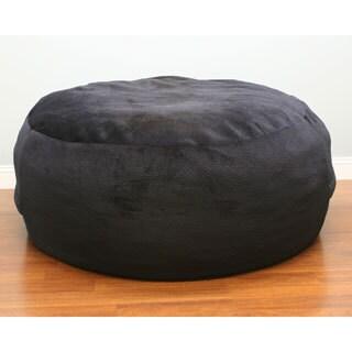 Poof Bean Bag in Black