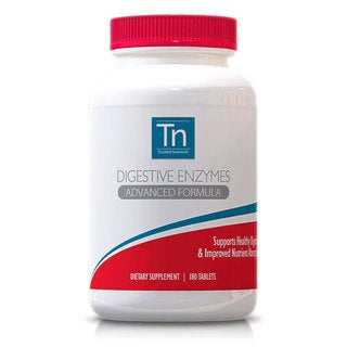 Trusted Nutrients GMO-free 405mg Digestive Enzymes (180 Capsules)