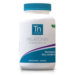 Trusted Nutrients GMO-free 5mg Melatonin (400 Softgels)