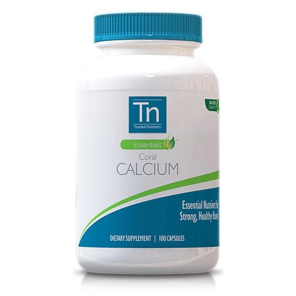Trusted Nutrients GMO-free Coral Calcium (100 Capsules)