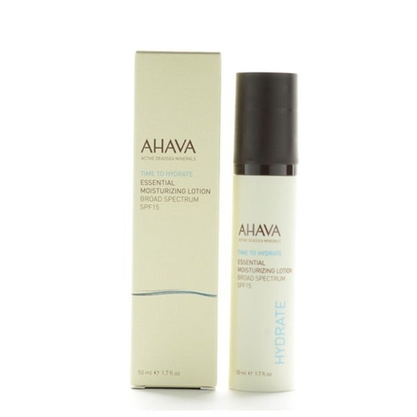Ahava Time To Hydrate Essential 1.7-ounce Moisturizing Lotion SPF15