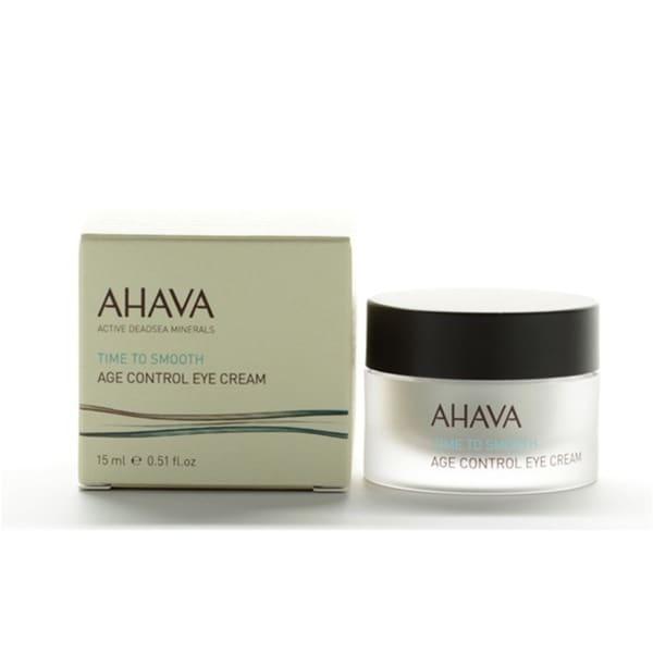 Ahava Time To Smooth Age Control 0.51-ounce Eye Cream