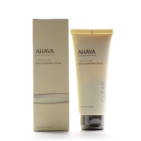 Ahava Time To Clear 3.4-ounce Rich Cleansing Cream