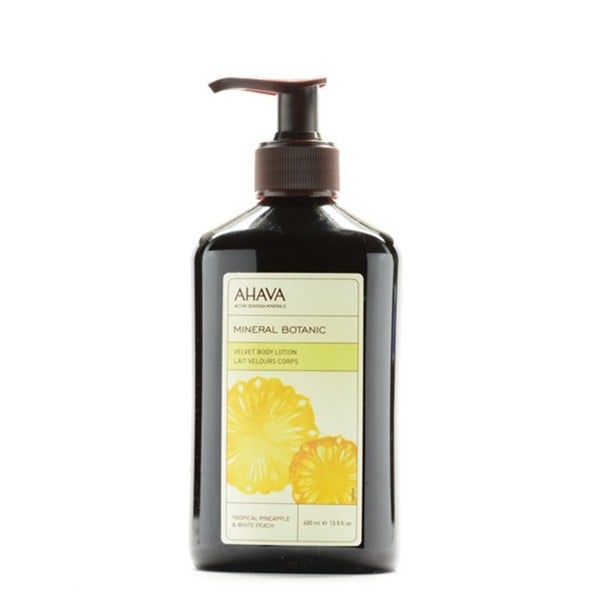 Ahava Tropical Pineapple and White Peach 13.5-ounce Body Lotion