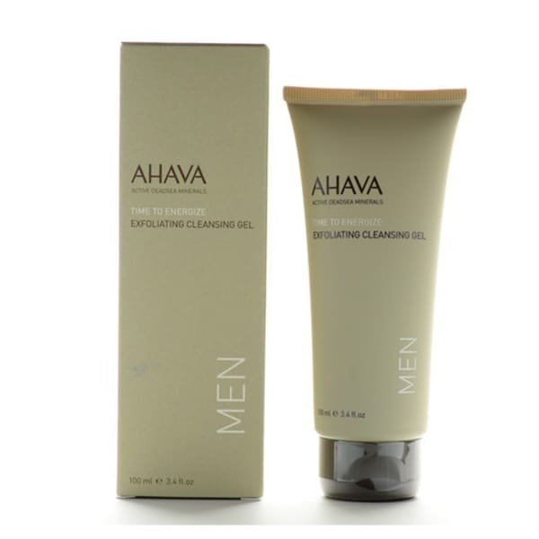 Ahava Men Time To Energize 3.4-ounce Exfoliating Cleansing Gel