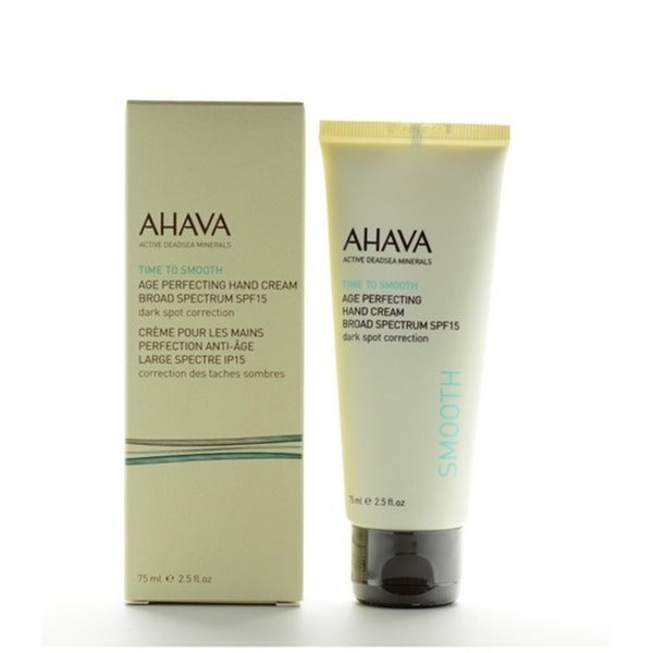 Ahava Time To Smooth Age Perfecting 2.5-ounce Hand Cream SPF 15