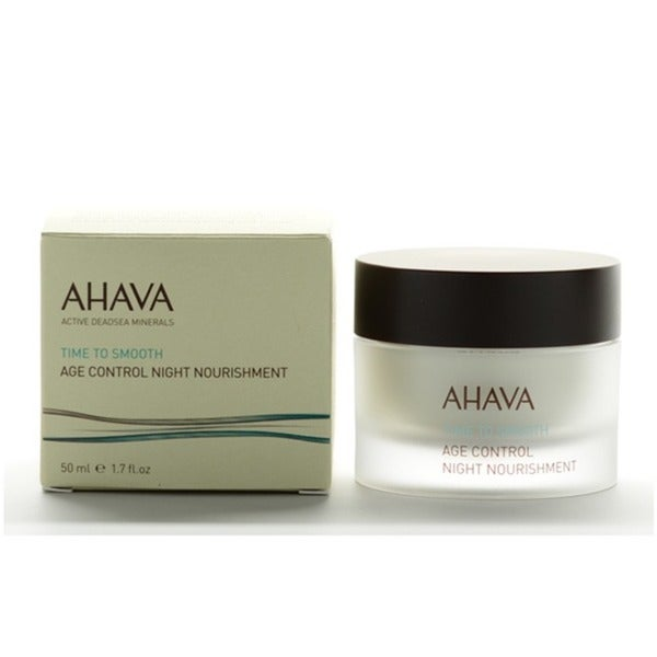 Ahava Time To Smooth Age Control 1.7-ounce Night Nourishment