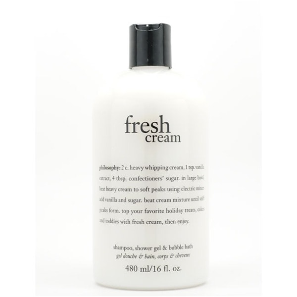 Philosophy Fresh Cream 16-ounce Shampoo/ Shower Gel/ Bubble Bath