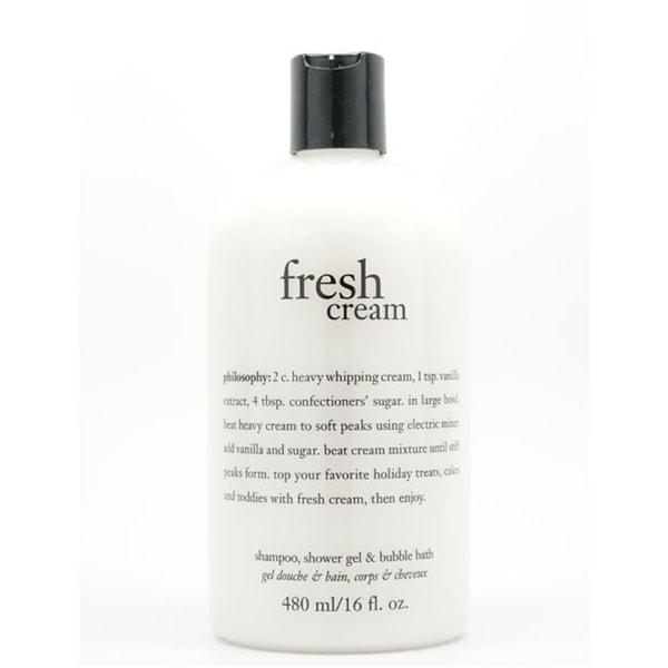 Philosophy Fresh Cream 16-ounce Shampoo/ Shower Gel/ Bubble Bath