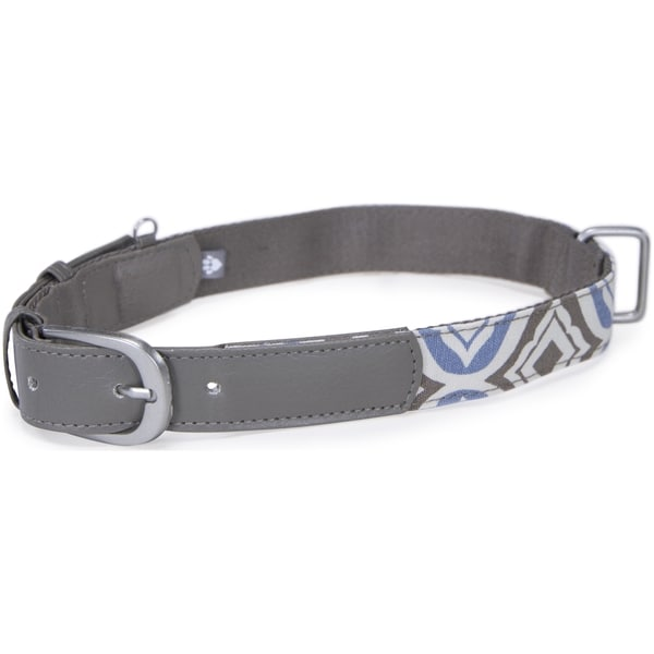 Kathy Ireland Loved Ones Fashion Dog Collar- Large-Blue